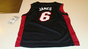 b26c9b59bc8d Image is loading NBA-Miami-Heat-S-Age-4-Lebron-James- · NBA WARM UP  SHOOTING JERSEY ADIDAS TORONTO RAPTORS SIZE ...