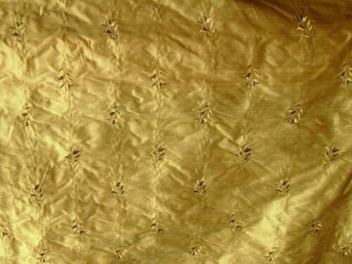 """DREAMS SILK EMBROIDERED `LILY` 54/"""" WIDE BY 0.25 MT"""
