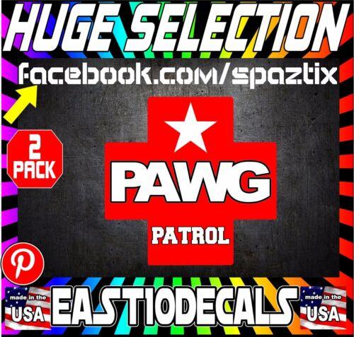 PRANK PAWG PATROL funny porn star vinyl car sticker decal funny