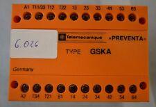 Telemecanique Preventa NOT-AUS-Überwachungsbaustein Type GSKA SerieB (6.026)