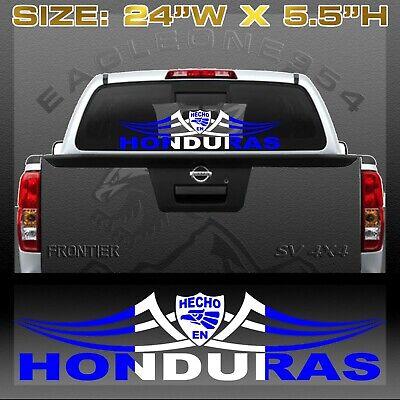 /'/'SIZES/'/' Tegucigalpa Honduras Flag Travel Stamp Car Bumper Sticker Decal