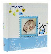 At Little Cost White Slip In Photo Album Holds 200 6 x 4 Photos Memo Area Baby Girl Keepsake Birthday Gift