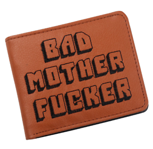 scarpe sportive c9f7f b2c58 Details about PULP FICTION Bad Mother QUENTIN TARANTINO Wallet Cartera  Portafoglio