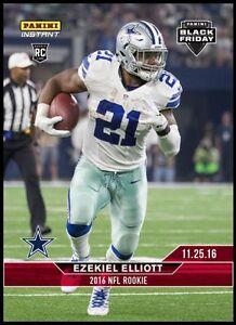 3853bc0bd 2016 Panini Instant NFL BLACK FRIDAY SET  2 Ezekiel Elliott Cowboys ...
