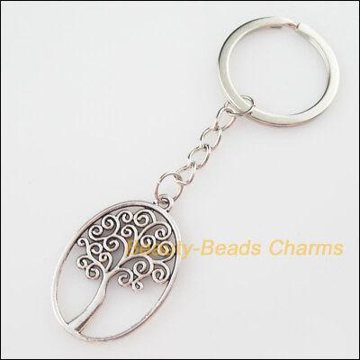 Key Charms Tibetan Silver  Qty 10 Pendants 32mm