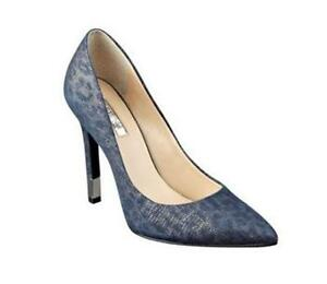 Womens Shoes GUESS Babbitta Blue Leather