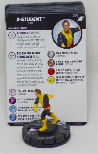 Heroclix X-Men Xaviers School # 006 X-Student