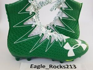 8d02c6ac89d6 Under Armour UA Highlight MC Football Cleats 1269693-313 Green White ...