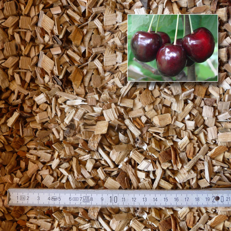 15 kg Räucherspäne Kirsche    kg BBQ Barbeque Holzkohle Kugelgrill Smoker  | Glücklicher Startpunkt