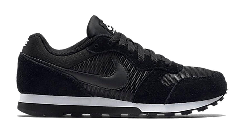 Nike Damen Sportschuh Freizeitschuh WMNS NIKE MD RUNNER 2 schwarz weiss / weiss schwarz 602d88