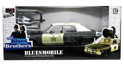 1 18 Ertl 1974 Dodge Monaco bluees Bredhers bluees Mobile