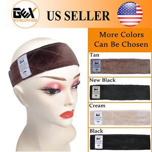 Gex Wig Grip Adjustable Headband Velvet Elastic Comfort Fastern