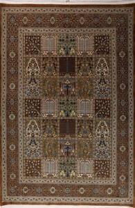 Ghom-Teppich-Orientteppich-Rug-Carpet-Tapis-Tapijt-Tappeto-Alfombra-Meisterstueck