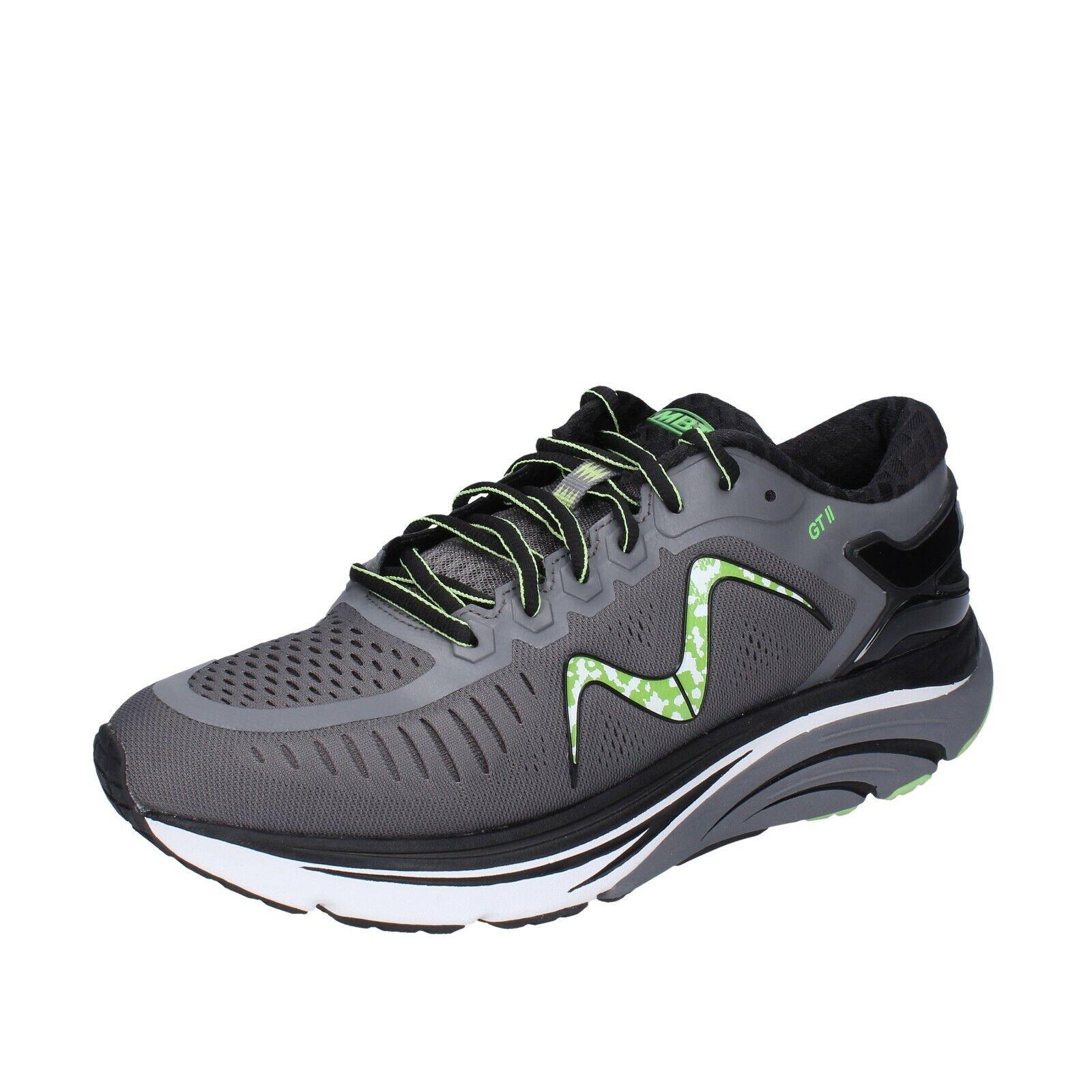 Men's shoes mbt 42,5 EU shoes gray green fabric bh643