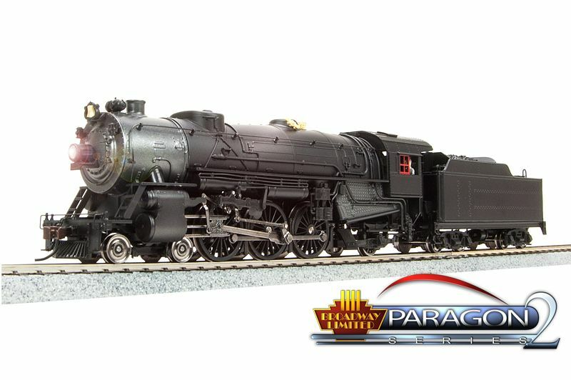 Baltimore & ohio schweren pazifischen ho dampf loco w   sound, dc   dcc von broadway ltd