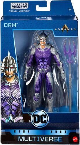 DC aquaman Multi-Univers Trench Warrior Series Mor Action Figure