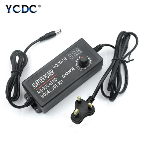 AC//DC Power Supply Adapter Adjustable 3-24V 2A 48W With LED Voltage Display FB2