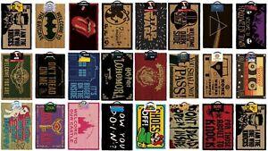 Official-Novelty-Doormats-Door-Mats-Choose-from-Zelda-Spyro-Friends-Potter-etc