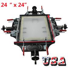 24 X 24 Manual Screen Frame Stretcher Screen Printing Tension Tool Design