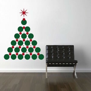 Details About Christmas Tree Wall Decals Christmas Window Stickers Christmas Decorations H30