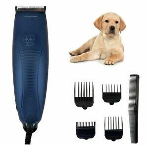 PDR* Kit Tosatrice Professionale Per Cani, Tosatore Elettrico con 4 Pettini 1023