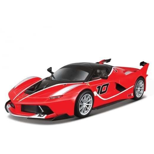 Buburago 1  18 Ferrari fxx k No.10 moldeado nuevo juguete en el camión rcling
