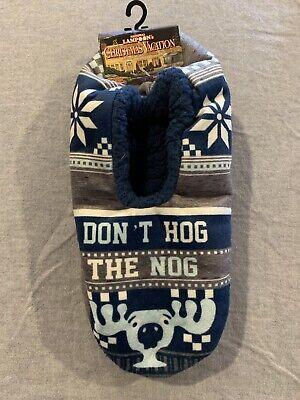 Holiday Socks Lucky Socks Gift Socks  ** NOT VINYL ** Don/'t Hog the Nog Custom Socks Christmas Socks