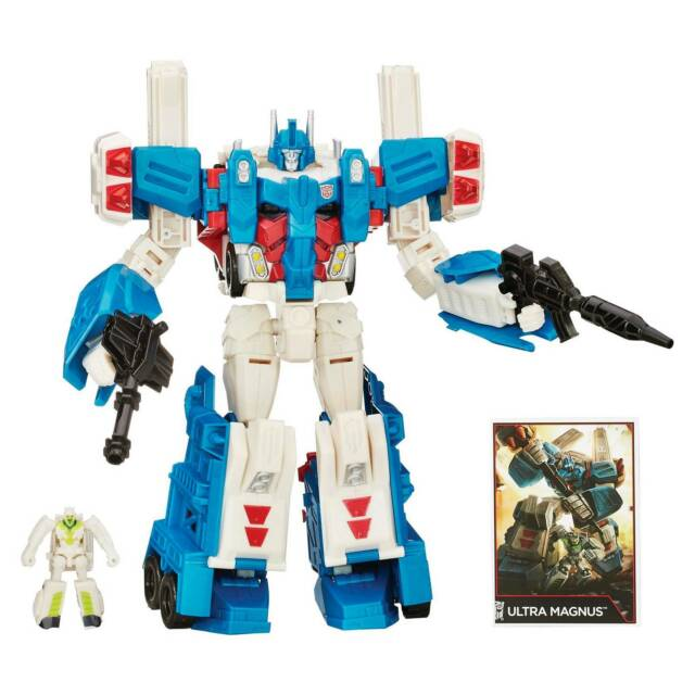 Transformers Generations Combineur Wars Leader Class foudre Action Figure