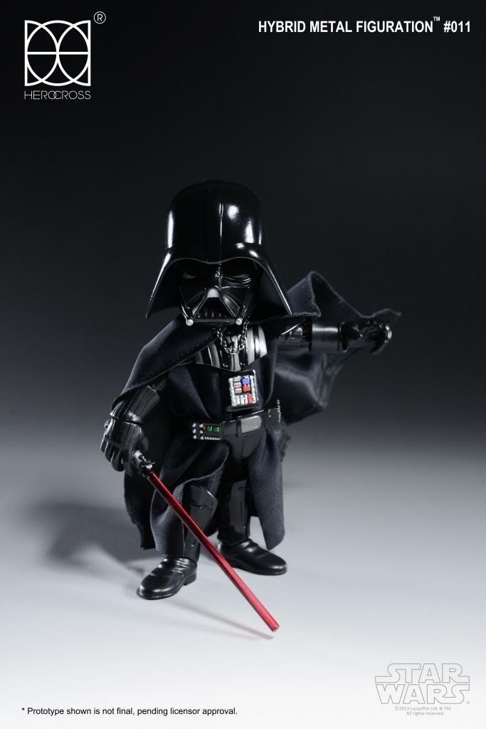 Herocross - Hybrid Mettuttio azione  cifra - Darth Vader 14 CM  trova il tuo preferito qui
