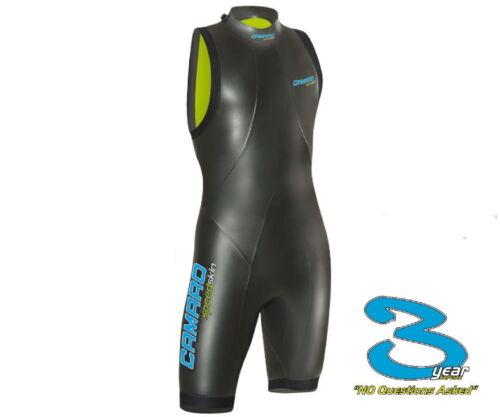 Camaro Hommes Vitesse Peche Shorty Triathlon Combinaison de Néoprène