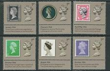 GREAT BRITAIN 2017 THE MACHIN DESIGN ICON SET OF 6 EX PRESTIGE WITH TABS UN.MINT