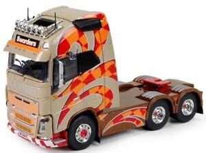 Tek70943 - Camion 6x2 Solo Volvo Fh04 Globetrotter Xl Aux Couleurs Sworders 1/