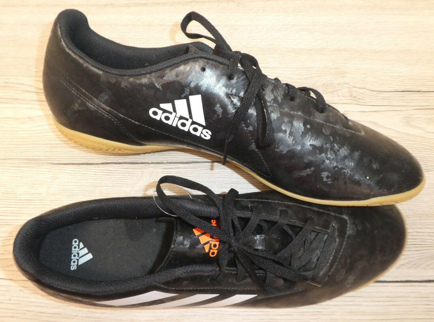 NEU    adidas      Herren Laufschuh Turnschuh Gr. 46 (48,5)    schwarz mit weiß 483688