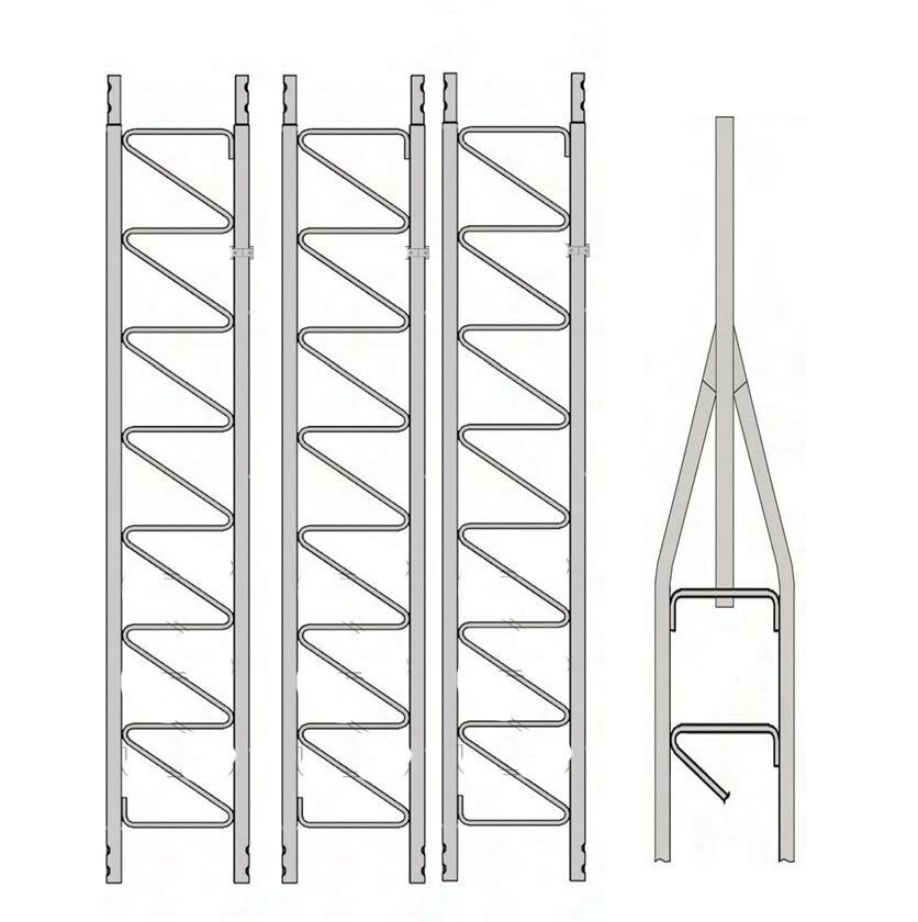 Rohn 25G Series 40' Basic Tower Kit. Available Now for 658.00