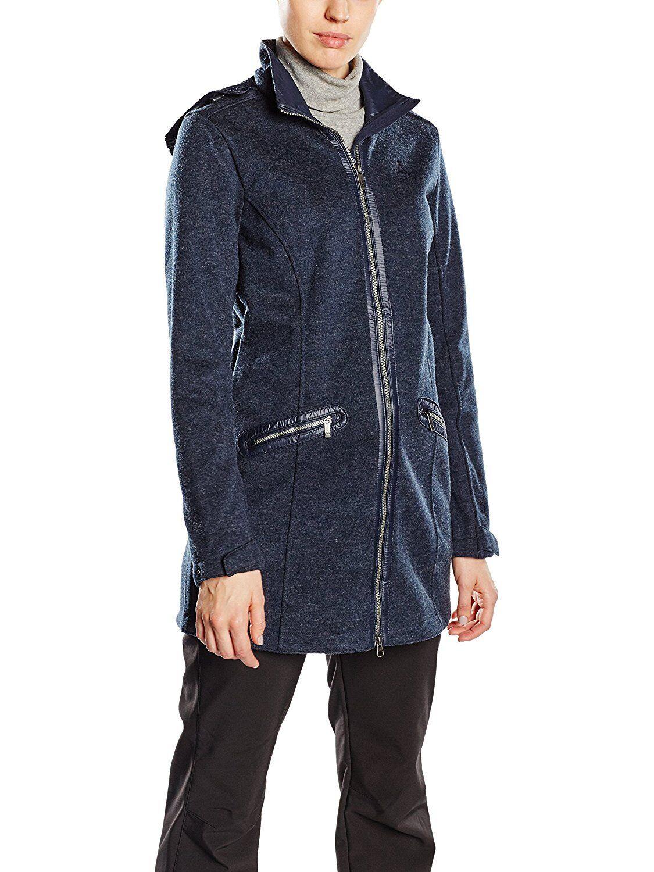 Schoffel Valbella Wohombres Altai Fleece eurea Mujer Chaqueta Larga10 noche  azul  barato en línea