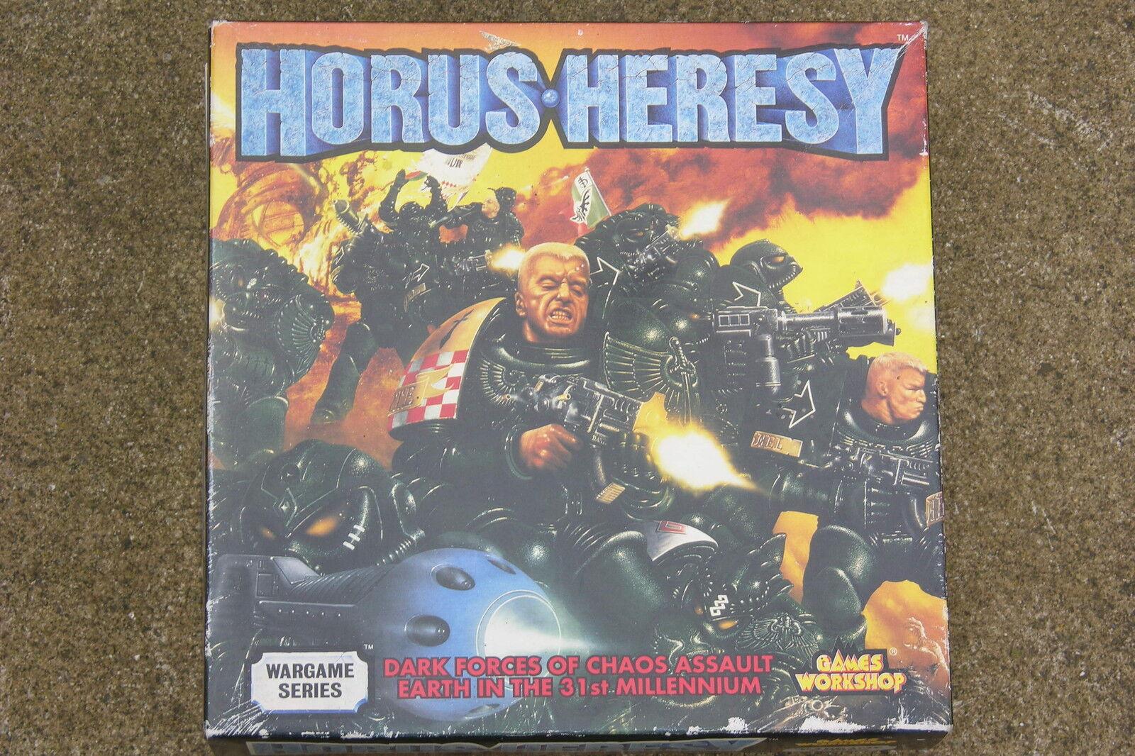 HORUS-HERESY, GAMES WORKSHOP WARGAME SERIES