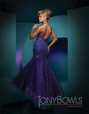 Tony Bowls 111709--Purple--Size 6 --Prom Dress