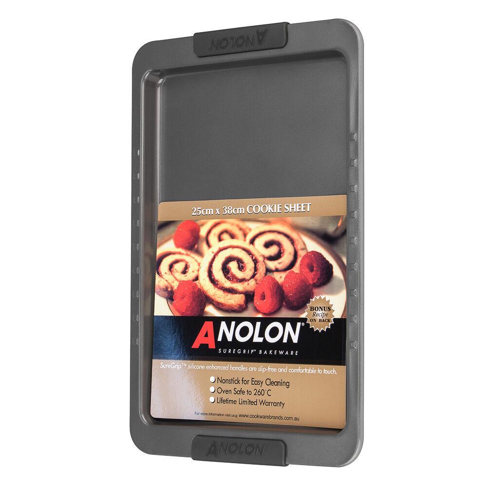 New Anolon Suregrip Cookie Sheet 25 x 38cm Kitchen Cookware Gadget High Quality