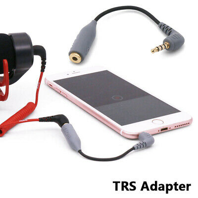 Replacement SC4 Microphone Cable for Rode 3.5mm TRRS Male to Female TRS Adapter