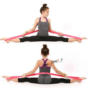 ballet stretch elastic rubber band flexibility training