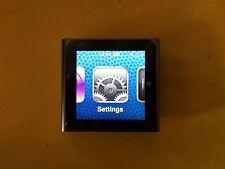 Apple iPod Nano 6th Generation Graphite 8GB with Accessories