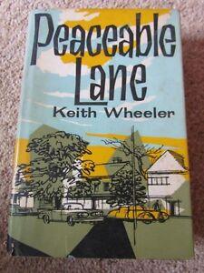 Peaceable-Lane-Keith-Wheeler-1961-Hard-Back-w-dust-jacket