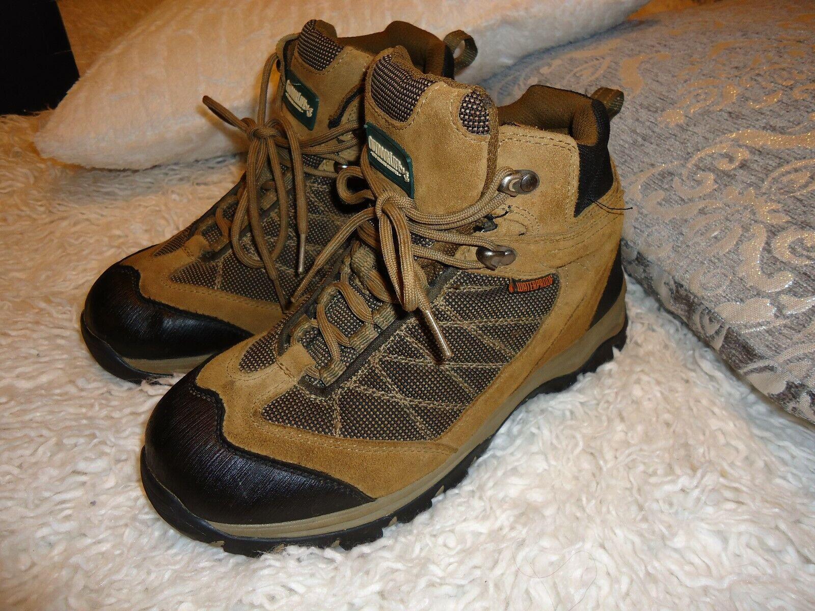 Outdoor Life Men's Joliet shoes   Size 8.5 Hiking  Slipresistant Weterproof Boots  looking for sales agent
