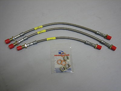 MGC 1965-76 MGB GT Stainless Braided Flexible Fuel Hose for Fuel Pump