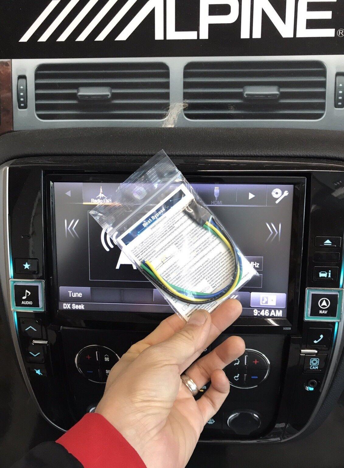 Bypass Modul fits All AVH PIONEER Alpine /& Jensen Parking Brake Video Override