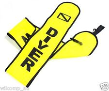 Scuba Diving Dive Safety Emergency Signal Yellow Rescue Tube Sausage WIL-RT-2Y