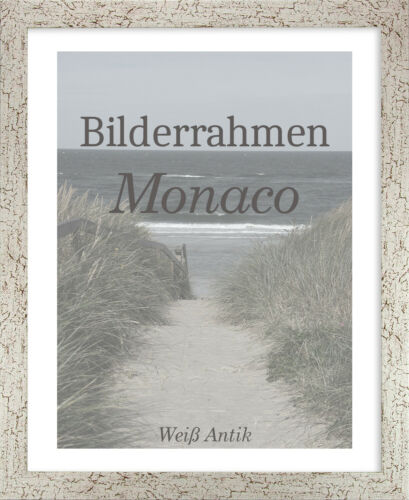 Bilderrahmen Monaco 26x41 cm Foto Poster Puzzle Galerie 41x26 cm
