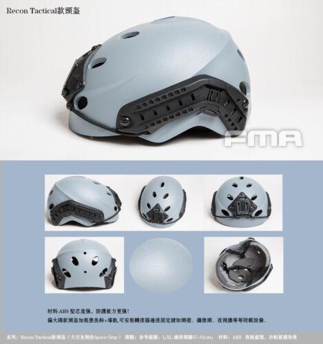 FMA Tactical Airsoft BJ PJ Caiman Ballistic Maritime MT TWF EX Helmet Space Gray