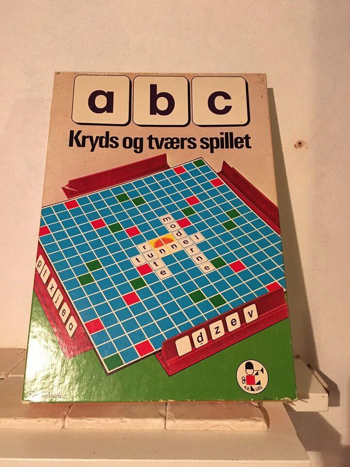 ABC kryds og tværs, brætspil