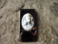 Jesus Cameo Stainless Steel Money Clip- Father's Day Gift - Religious - God